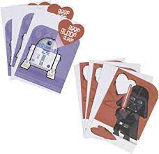 Try adding lightsaber chopsticks and cp30 insulated. Amazon Com Hallmark Star Wars Valentines Day Cards Assortment For Kids Darth Vader And R2 D2 6 Valentine S Day Cards With Envelopes Office Products