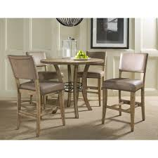 Hillsdale Dining Table Hillsdale Charleston 5 Piece Round Counter Height Dining Set