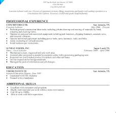 Entry Level Construction Resumes Resume Template Construction Construction Resume Template Resume