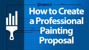 how to create a professional painting proposal painting business pro