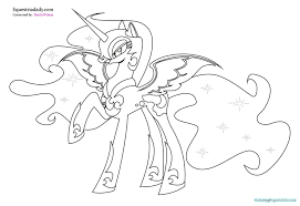 my little pony princess celestia coloring pages 1020 baby