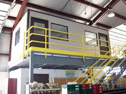 mezzanine office. Modular In-plant Office Mezzanine R