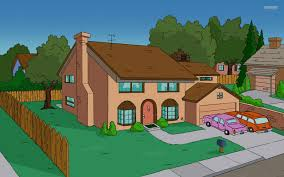Simpsons Wallpaper For Bedroom The Simpsons House In Real Life With All The Correct Furniture