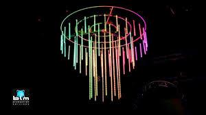 3d led crystal chandelier