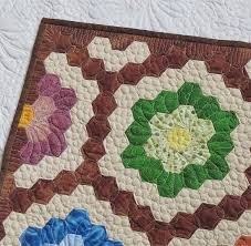 Finishing A Hexagon Quilt - Best Accessories Home 2017 & Quick Quilting How To Finish The Edge Of Hexagon Quilts Adamdwight.com