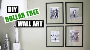 Diy Wall Decor Dollar Tree Diy Floating Frame Art Dollar Store Diy Gallery Wall