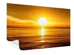 Poster Sonnenuntergang Und Sonnenaufgang