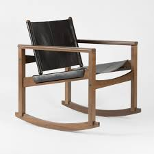the peglev rocking chair designed by michel arnoult has a natural stylish ness underlined by its both simple and modern lines