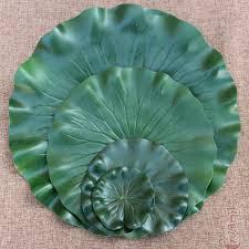 <b>2PCS</b> 10CM 18CM 28CM 40CM Artificial Lotus <b>Leaf</b> Water <b>Lily</b> ...