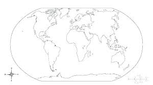 World Map Coloring Pages Printable World Map Coloring Page Map