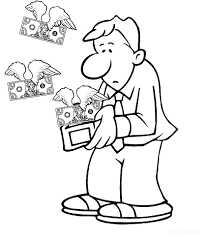 Coloring Pages For Kids About Money With Money Coloring Sheets Play
