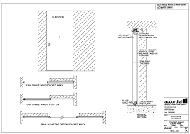 collection sliding door technical drawing pictures