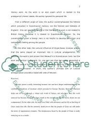 beowulf reaction paper essay example topics and well written beowulf reaction paper essay example
