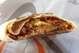 taco bell breakfast crunchwrap. Simple Bell Bacon AM Crunchwrap With Taco Bell Breakfast R