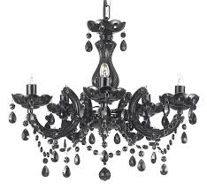 black chandeliers with crystals chandelier awesome chandelier
