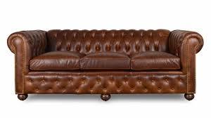 leather sleeper sofa. Traditional Chesterfield Leather Sleeper Sofa E