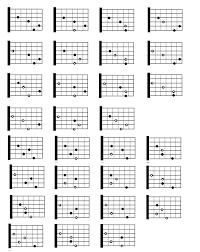 Standard Guitar Chord Accomplice Music