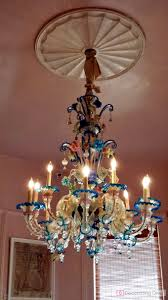 colorful murano glass chandelier at bremermann designs the decorating diva llc
