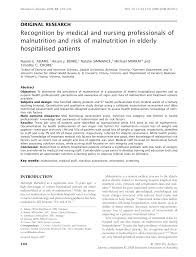 nutrition screening practices in australian healthcare facilities a decade later request pdf
