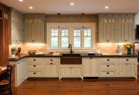 stylish decoration craftsman style kitchen cabinets arts and crafts regarding with
