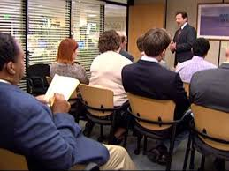 the office the meeting. Conference. Throughout The Office Meeting O