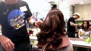 ホットカラーで超簡単 巻き髪