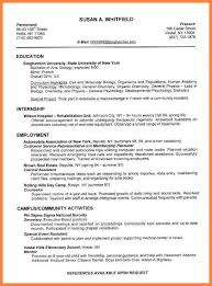 Examples Of Good Cv For Students 12 Msdoti69
