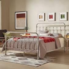 Amazon Com Wrought Iron Bed Frame Dark Bronze Metal Queen Size Free ...
