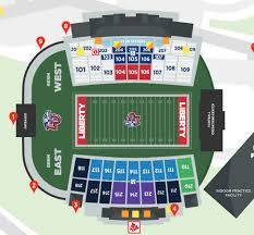 Liberty Football Seating Chart Liberty Flames 2018 Football Schedule