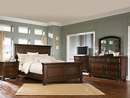 master bedroom furniture. Porter Queen Master Bedroom Rustic Brown Large To Furniture