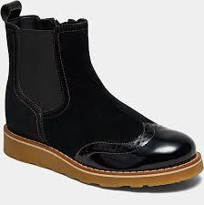 <b>Ботинки BROS</b>-<b>D</b> (цвет черный, лаковая кожа,спилок) — купить ...