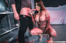Mia Lelani from DigitalPlayground Giving Blowjob Image Gallery.