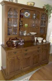 wood room hutch cabinet and glass doors modish