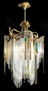 dazzling antique chandelier for 23 art deco unique