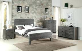 grey and wood bedroom dark furniture interior intended for gray