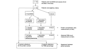 Ards Pathophysiology Flow Chart Flowchart Of Compared Subgroups Of Patients Acle Acute