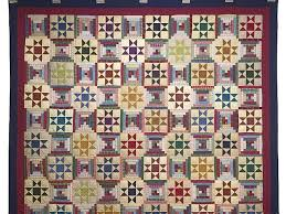 124 best Ohio Star Quilts images on Pinterest | Log houses, Blue ... & Scrappy Log Cabin with Ohio Stars Quilt Photo 2 Adamdwight.com