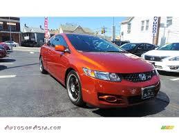 2009 Honda Civic Si Coupe in Redline Orange Pearl - 700632 | Autos ...