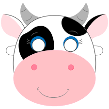 Cow Template Cow Mask Template Free Printable Papercraft Templates