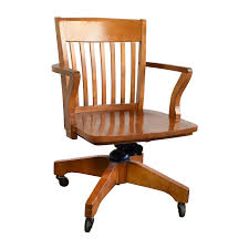 wooden swivel desk chair. Shop Pottery Barn Swivel Desk Chair Home Office Chairs Wooden I