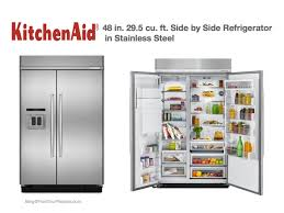 kitchenaid refrigerator side by side. 48 kitchenaid refrigerator exellent 258 cuft french door e inside side by r