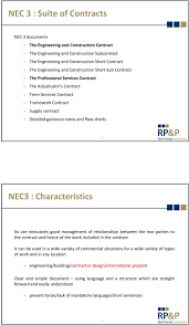 Nec3 Engineering Construction Contract An Overview Pdf