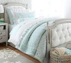 White Tufted Headboard Bedroom Set Restoration Hardware Luxury With ...