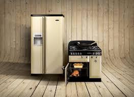 rangemaster side american style fridge freezer both cream