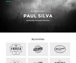 Portfolio Website Templates Fascinating 28 Awesome Bootstrap Portfolio Website Templates For Designers