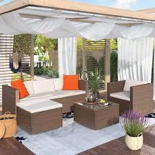 casainc rattan patio furniture set