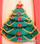 Вязаные елки новогодние своими руками