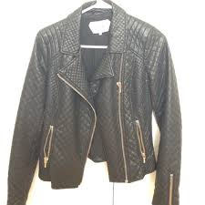 33% off Zara Jackets & Blazers - Zara Trafaluc Faux Quilted ... & Zara Trafaluc Faux Quilted Leather Jacket Adamdwight.com