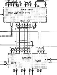tech tips pin 8 in the din connector is switched 12v if your radio connects a 8pin din it acts as the booster on signal the diagram above is from a 1994 gts