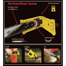 Oregon Powersharp Bar Mount Chain Sharpening Kit For 18in Chainsaws Model 541662